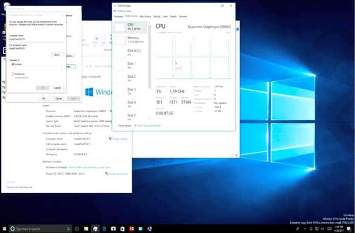 ARM destekli Windows 10 cihazları