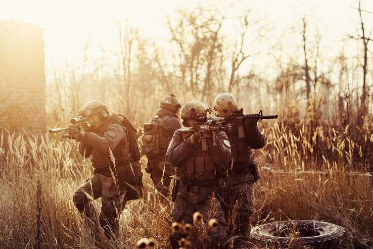 Holografik Askeri Operasyon