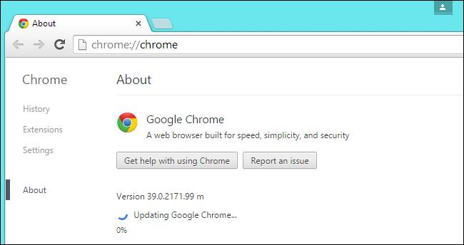 Chrome-Güncelleme