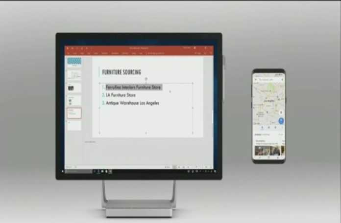 Microsoft, Cloud Clipboard