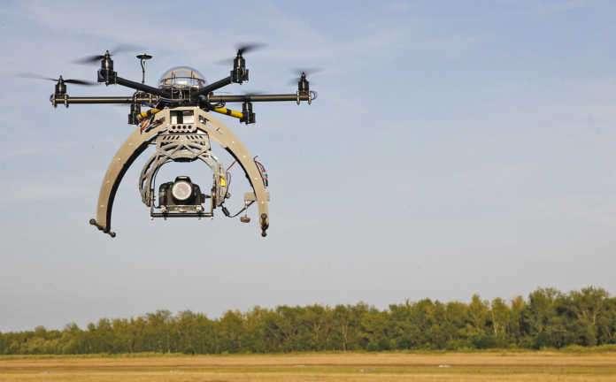 internete bağlı dronelara