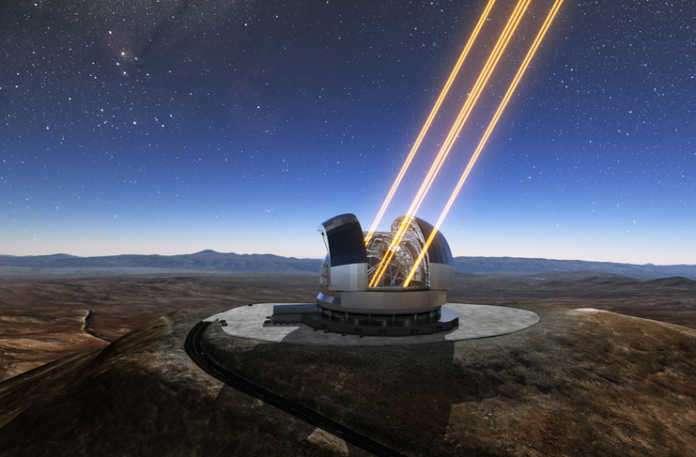Birkaç yıllık planlamanın ardından Extremely Large Telescope'un yapımına resmen başlandı.