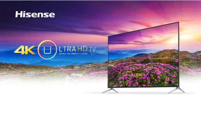Hisense 4K TV'ler kendine yerleşeceği raflar arıyor