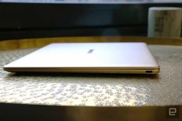 Huawei MateBook X Apple'ın 12 inç MacBook'unu andırıyor