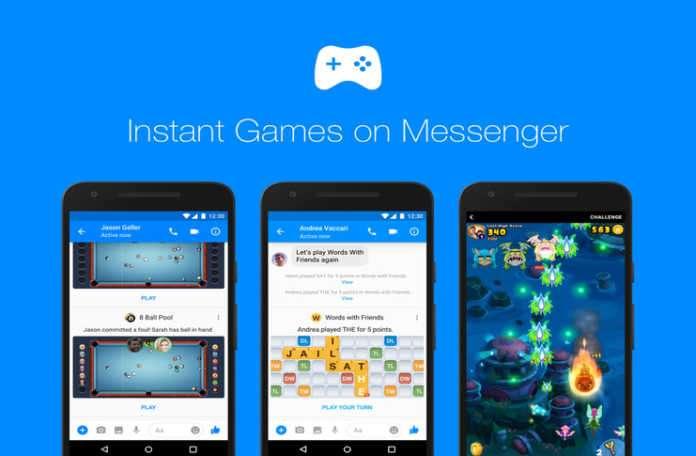 'Instant Games(Anlık Oyunlar)' Facebook Messenger