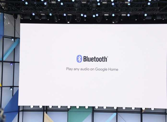 Google Home'a Bluetooth