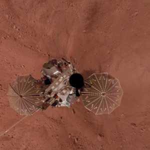 NASA, kızıl gezegenin görüntülerini ortaya çıkardı