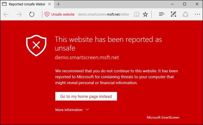 Zararlı web sayfası