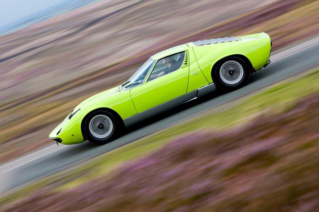 Dünyanın en güzel arabaları - 1966 Lamborghini Miura