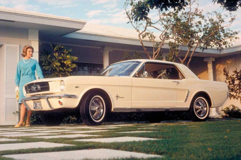 Dünyanın en güzel arabaları - 1964 Ford Mustang