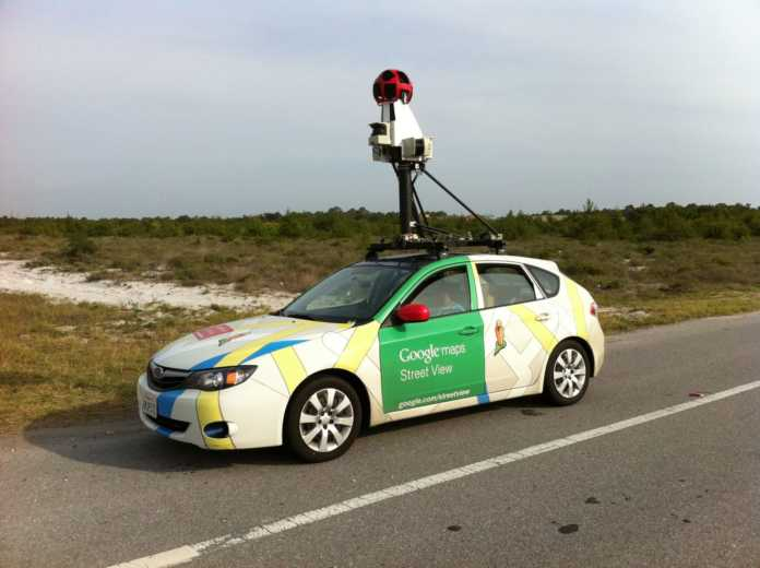 Google street view araçları