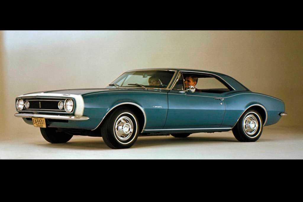 Dünyanın en güzel arabaları - 1967 Chevrolet Camaro