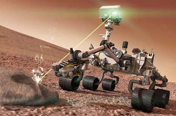 Mars keşif aracı Curiosity yapay zekasını kullanarak toprak yapısını ve kayalıkları analiz ediyor