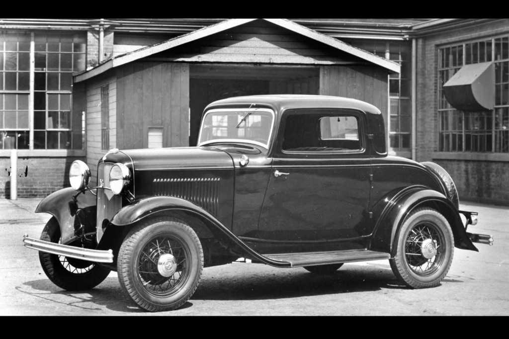 Dünyanın en güzel arabaları - 1932 Ford V8