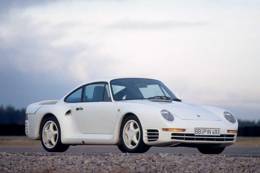Dünyanın en güzel arabaları - 1987 Porsche 959