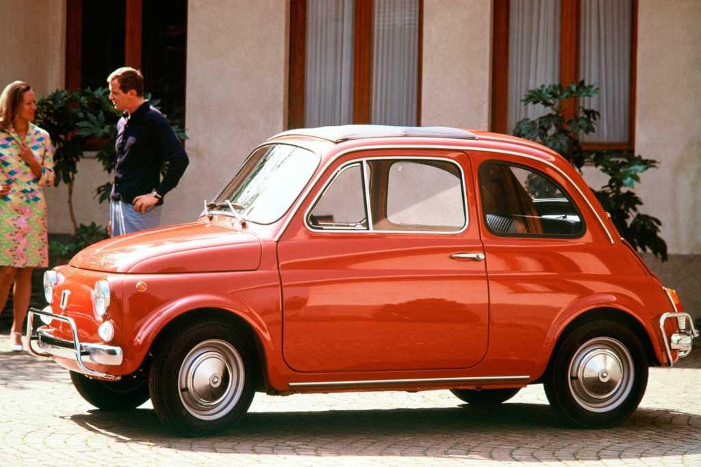 Dünyanın en güzel arabaları - 1957 Fiat 500