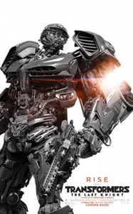 Transformer 5: Son Şövalye, 23 Haziran 2017'de gösterime girecek