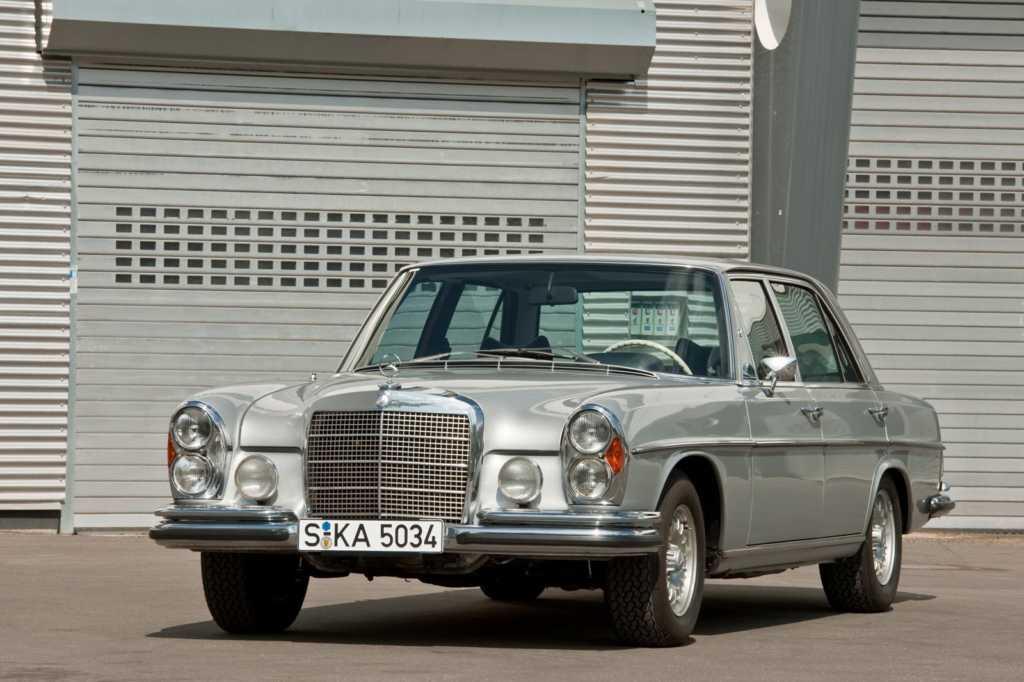 Dünyanın en güzel arabaları - 1968 Mercedes-Benz 300SEL 6.3