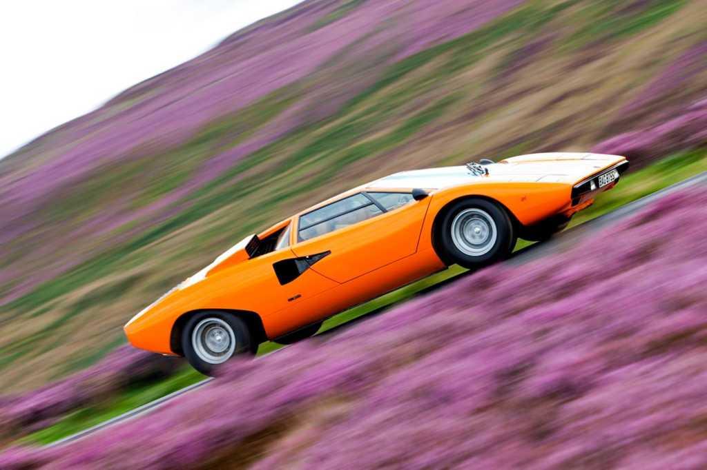 Dünyanın en güzel arabaları - 973 Lamborghini Countach