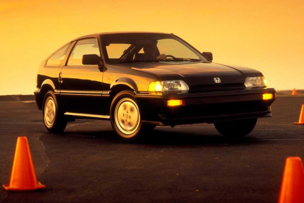 Dünyanın en güzel arabaları - 1984 Honda Civic CRX
