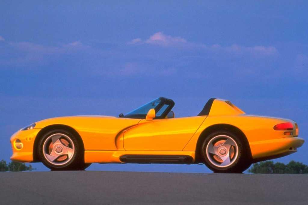 Dünyanın en güzel arabaları - 1992 Dodge Viper RT
