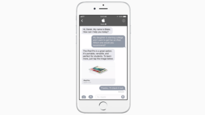 Apple'ın iMessage'ı Businees Chat adını verdikleri bir hizmetle ortaya çıkıyor