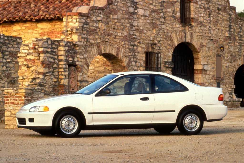 Dünyanın en güzel arabaları - 1993 Honda Civic Coupe