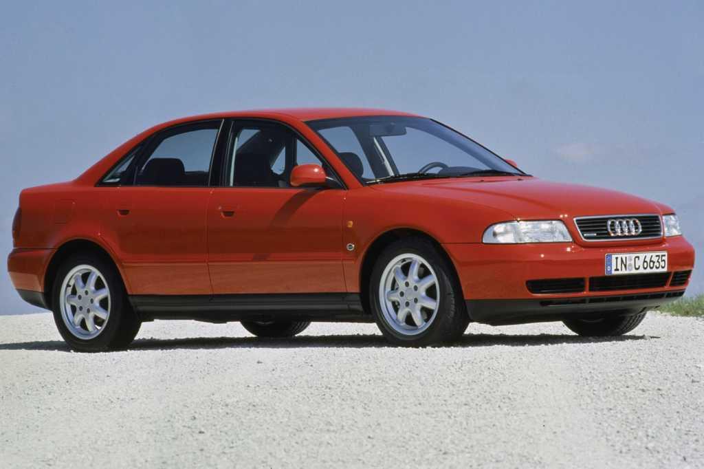Dünyanın en güzel arabaları - 1996 Audi A4