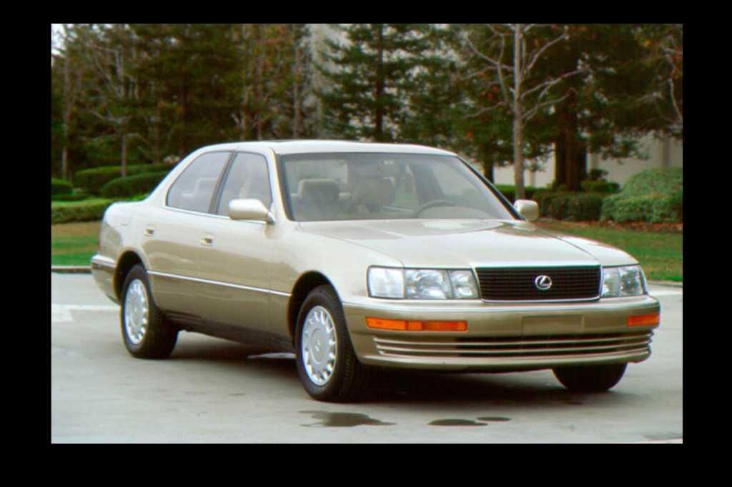 Dünyanın en güzel arabaları - 1990 Lexus LS 400