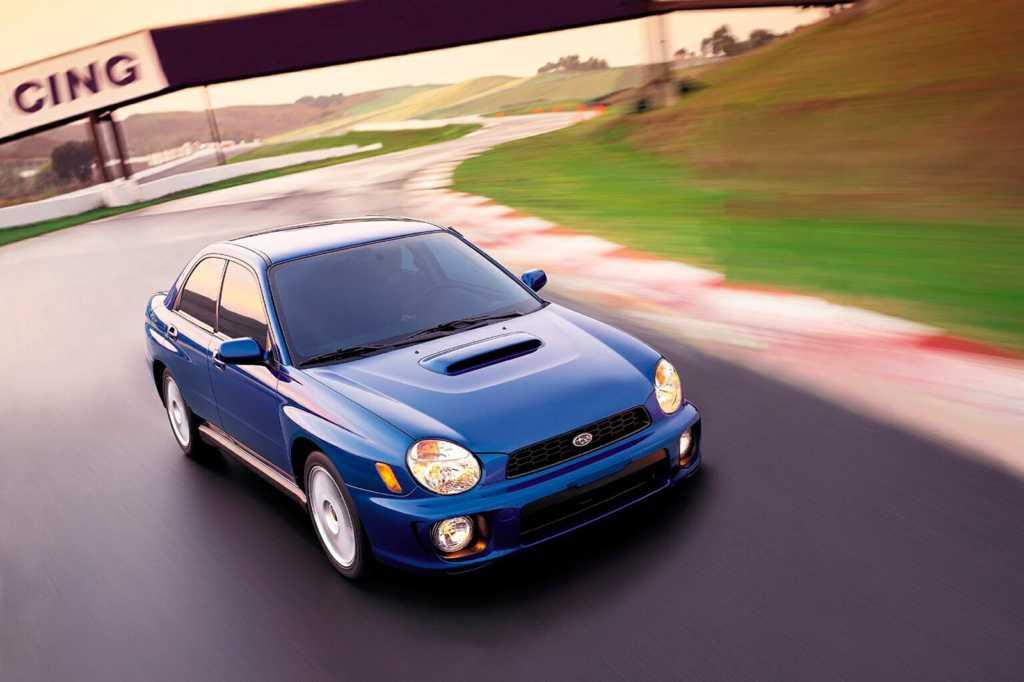 Dünyanın en güzel arabaları - 2002 Subaru WRX