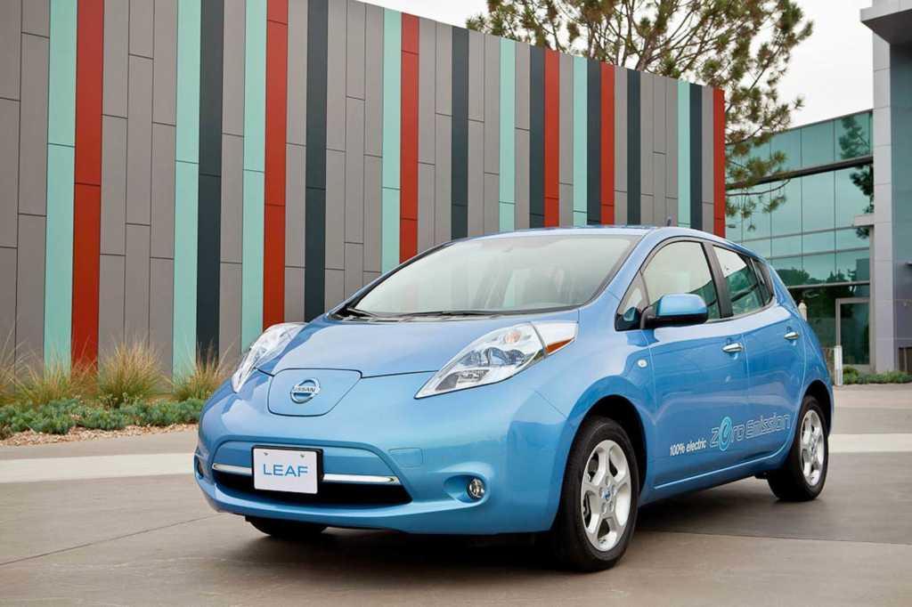 Dünyanın en güzel arabaları - 2011 Nissan Leaf