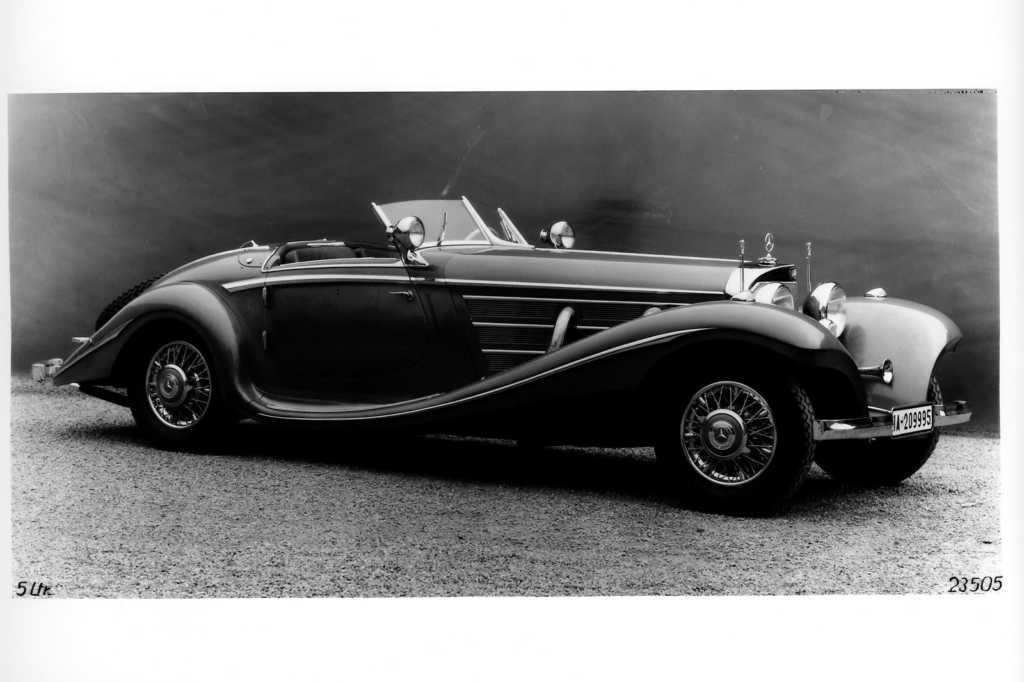 Dünyanın en güzel arabaları - 1936 Mercedes-Benz 540K Roadster