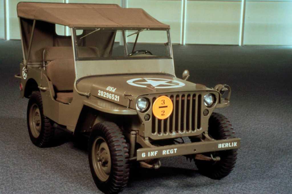 Dünyanın en güzel arabaları - 1941 Jeep MB