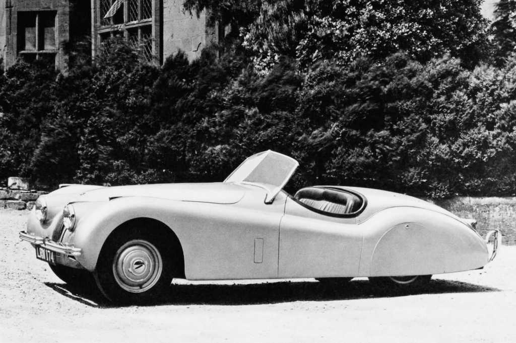 Dünyanın en güzel arabaları - 1948 Jaguar XK120