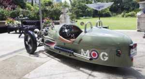Morgan 3 Wheeler, Türkiye'ye geldi