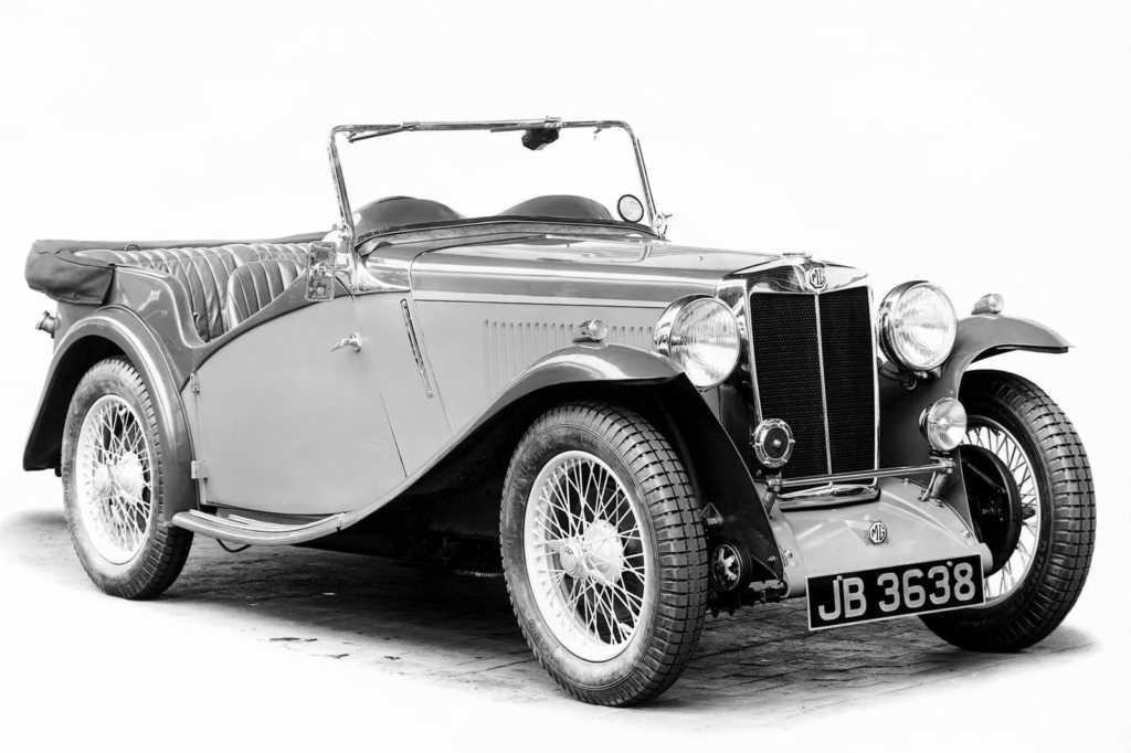 Dünyanın en güzel arabaları - 1946 MG TC