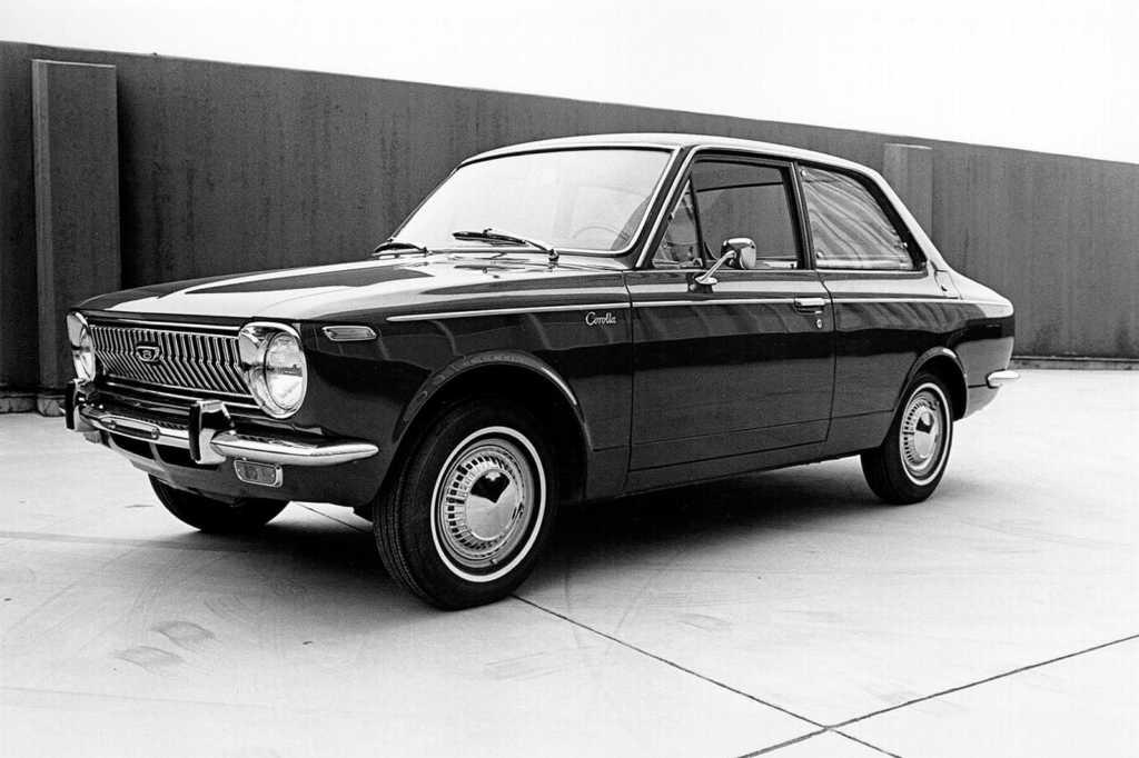 Dünyanın en güzel arabaları - 1968 Toyota Corolla