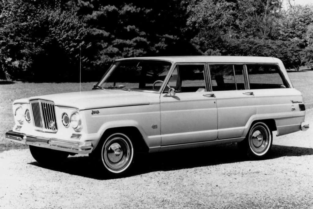 Dünyanın en güzel arabaları - 1963 Jeep Wagoneer