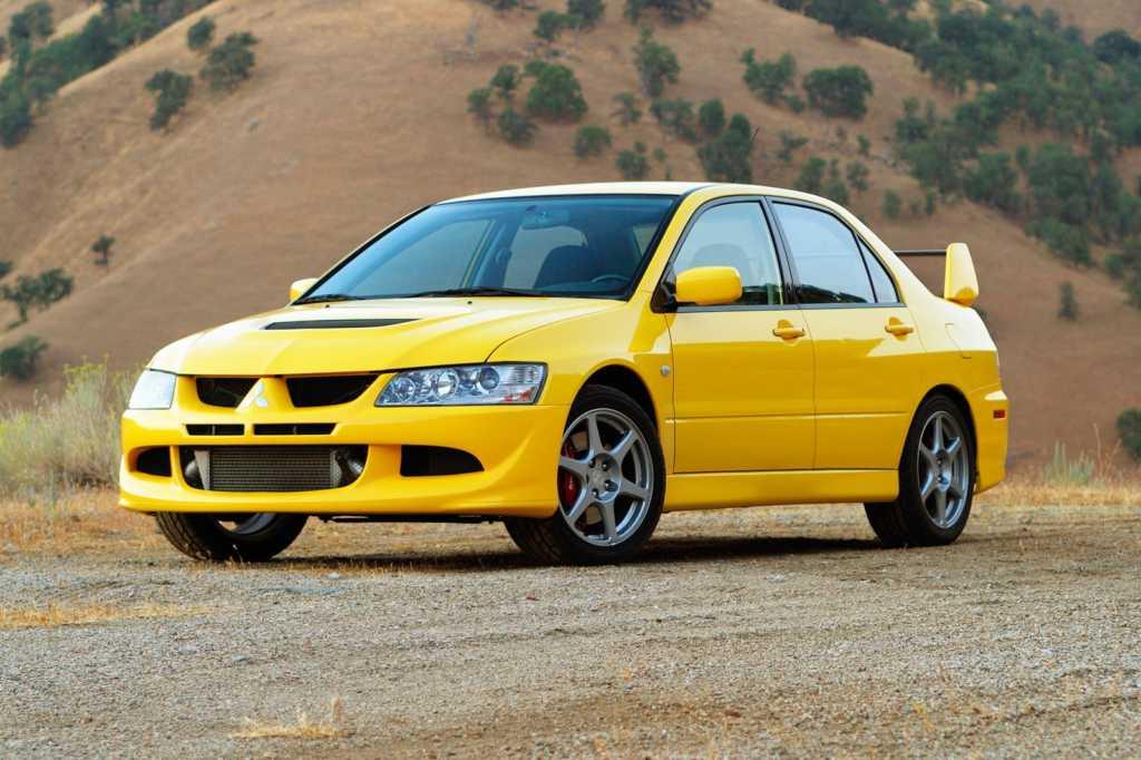 Dünyanın en güzel arabaları - 2003 Mitsubishi Lancer Evolution VIII