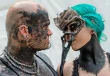 Dünyanın en büyük Gotik kültür festivali'nden renkli görüntüler ortaya çıktı
