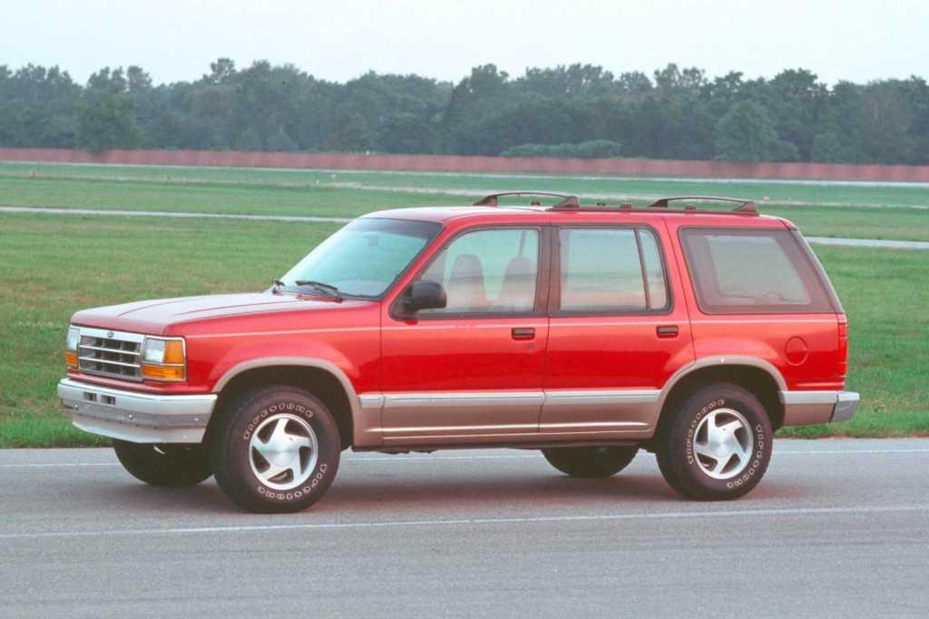 Dünyanın en güzel arabaları - 1991 Ford Explorer