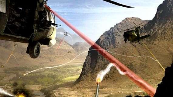 Ancak helikopterler ile hedefe doğru bir şekilde ateş etmek daha da zor