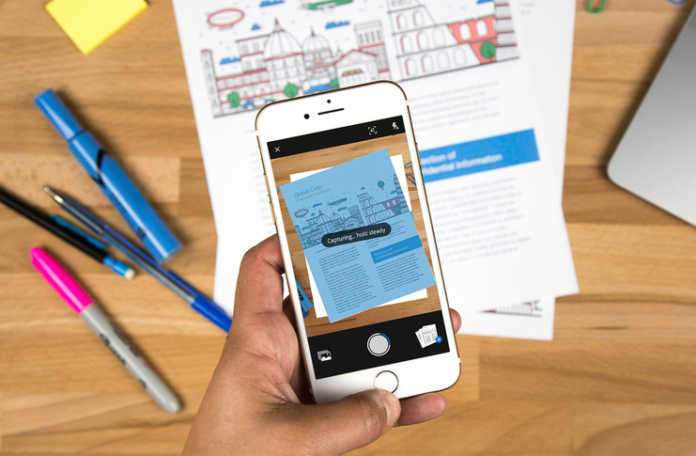 Adobe mobil uygulama 'Scan'