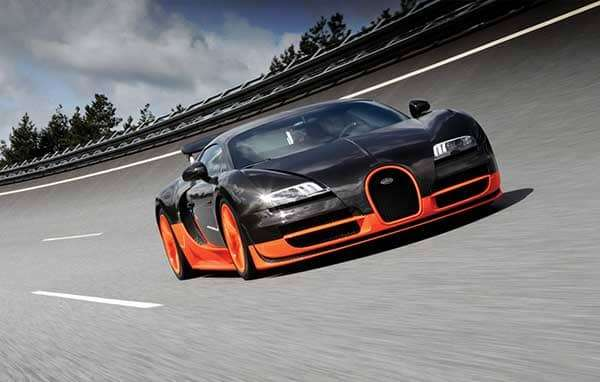 Dünyanın en hızlı arabaları - BUGATTI VEYRON SUPER SPORT- 268 MPH