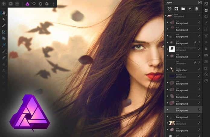 Photoshop'un alternativi olan Affiity Photo yeni mobil sürümünü tam özelliklere sahip.