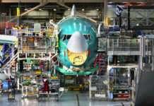 Puget Sound bölgesinin en gözde mekânlarından biri olan Washing, Everett'deki Boeing uçak fabrikasını bugüne kadar 5 milyondan fazla ziyaretçi gezdi