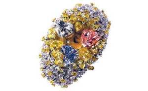 Dünyanın en pahalı saati Chopard 210 karat