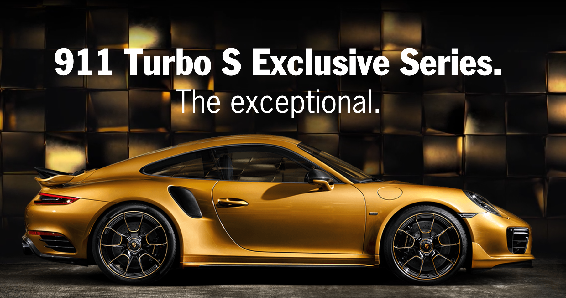 2017 Porsche 911 Turbo S Exclusive