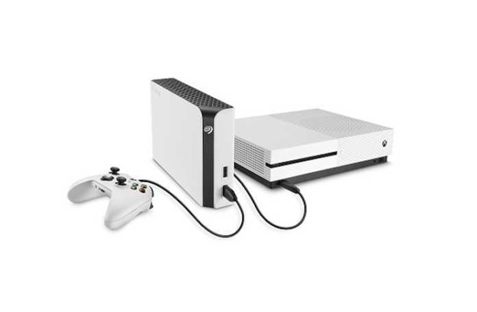 Xbox için yeni Seagate sabit disk sürücüsü