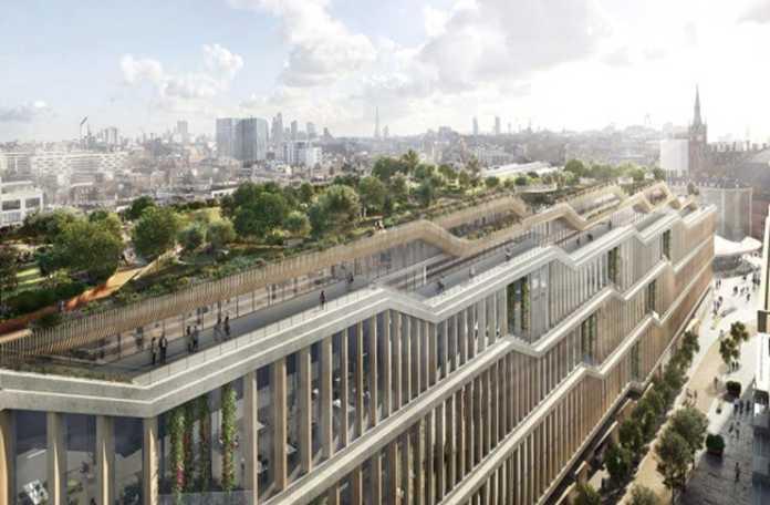 Google, yeni kampüsünü Londra'nın King Cross bölgesine inşa ediyor